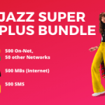 Jazz Super Plus - Daily SMS, MBs, Mints