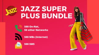 Jazz Super Plus Bundle