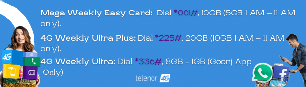Telenor Weekly Packages
