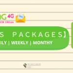 Zong SMS Packages - Daily, Weekly, Monthly SMS Bundles,