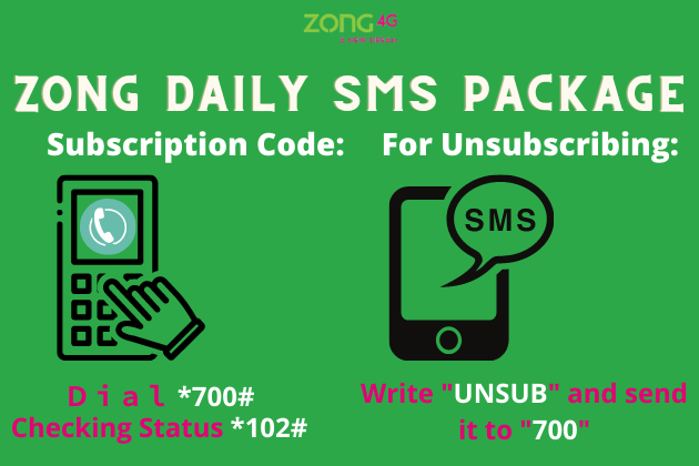 Zong Daily SMS Package