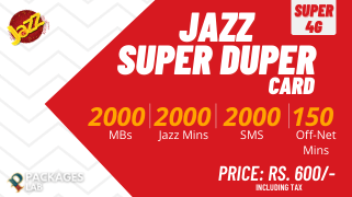 Jazz Super Duper Card