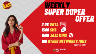 Jazz Weekly Super Duper Offer