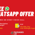 Jazz Free WhatsApp Offer 3G/4G - How to Avail Free WhatsApp Offer?