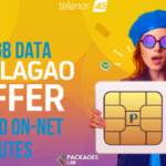 Telenor SIM Lagao Offer - Free 10GB, 3000 Minutes
