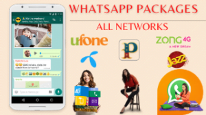 WhatsApp Packages – All Networks – Jazz, Zong, Telenor, Ufone