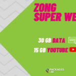 How to Subscribe Zong Super Weekly Max 30GB?