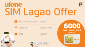 Ufone SIM Lagao Offer – Free Internet, SMS, Minutes [2021]