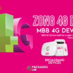 Zong 4G Device Packages - 3G/4G, Device Prices