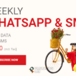 Jazz Weekly SMS & WhatsApp Package - Rs. 20/-