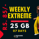 Jazz Weekly Extreme Offer 3G/4G - 25 GB