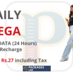 Jazz Daily Mega Offer - 1 GB - Rs. 27/-