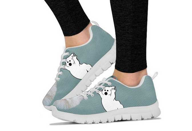 Sneakers with unique designs!