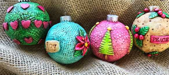 The Right Tools Required to Make Polymer Clay Ornaments