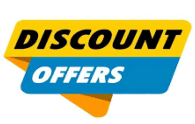 What are discount offers
